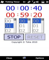 free Ticking Timer for windows mobile phone