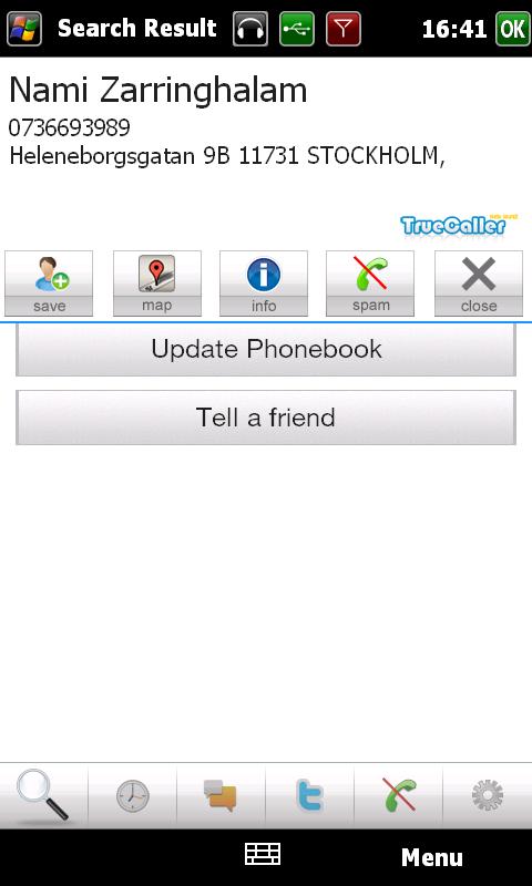 call firewall  windows mobile
