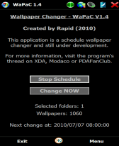 WaPaC - Wallpaper Changer