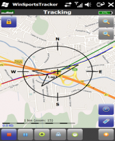 WinSportsTracker for Windows Mobile phone