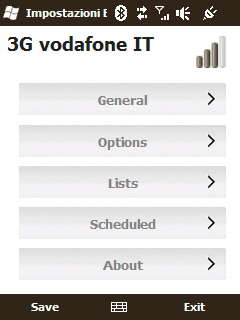 Mobile Blacklist 1.5 v1.50 freeware for Windows Mobile Phone.240
