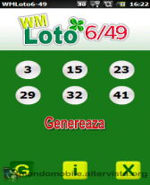 free WMLoto6-49 for windows mobile phone