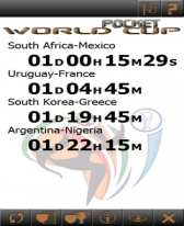 free South Africa WorldCup Pocket 2010 for windows mobile phone