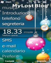 free Xmas Ball for windows mobile phone