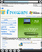 free ZetaKey Webkit Browser for windows mobile phone