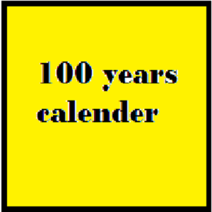 Download 100 years calender for Windows Phone 7