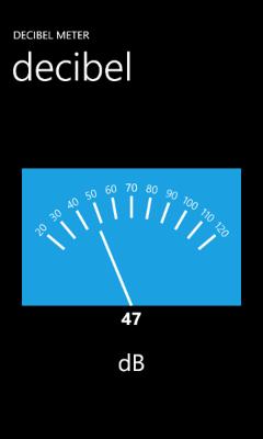soft decibel meter mesure le bruit payant. Black Bedroom Furniture Sets. Home Design Ideas